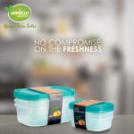 Crisper Food Container 3pc Set (Small)